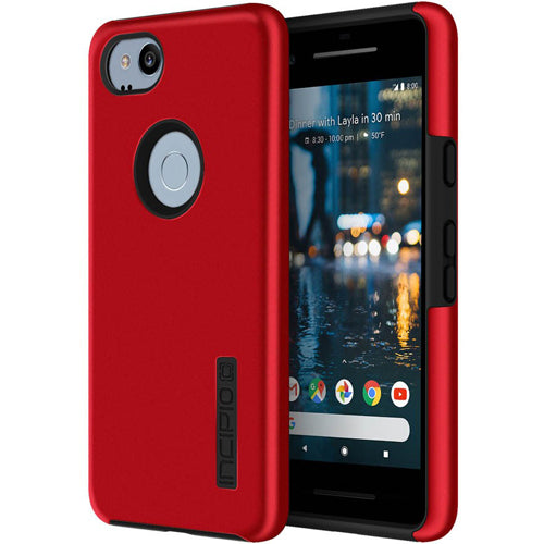 place to buy online incipio dualpro protective case for google pixel 2 - red/black. Free shipping australia from authorized distributor.