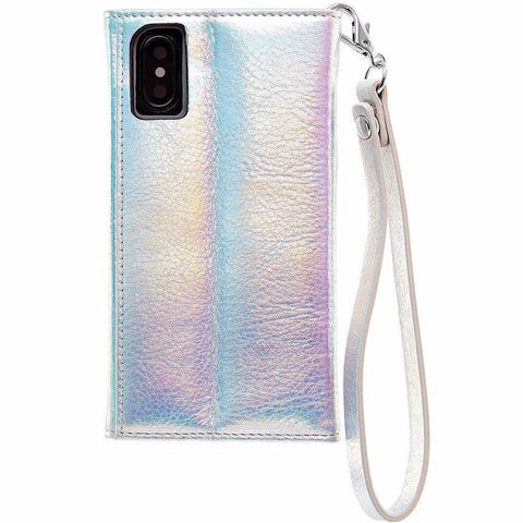 Shop Australia stock CASEMATE WRISTLET LEATHER CARD FOLIO CASE FOR iPHONE XS/X - IRIDESCENT with free shipping online. Shop Casemate collections with afterpay