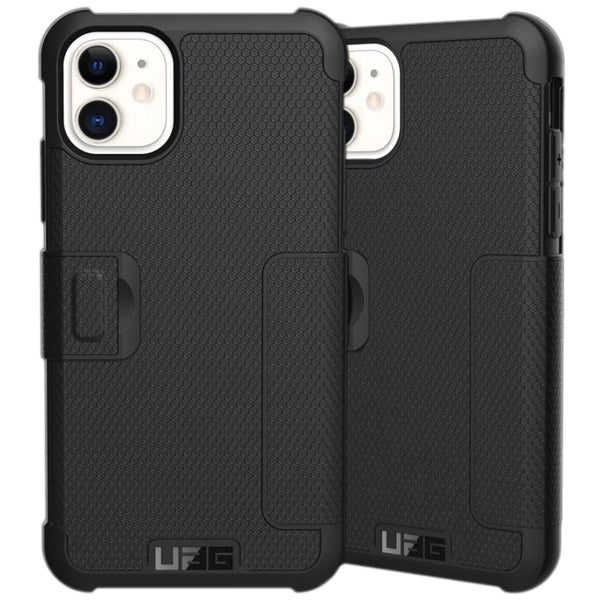 "Shop Australia stock UAG Metropolis Folio Wallet Case for iPhone 11 (6.1"") - Black with free shipping online. Shop UAG collections with afterpay"