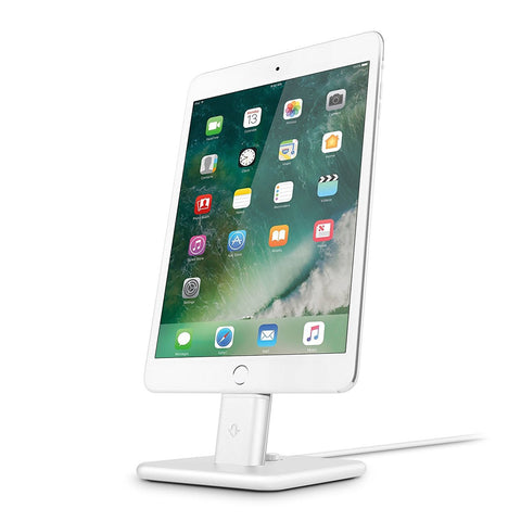 Twelve South HiRise Deluxe 2 charging stand Dock for iPhone & iPad - White