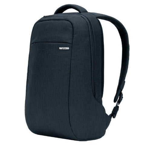 INCASE ICON LITE BACKPACK WITH WOOLNEX FOR MACBOOK UPTO 15 INCH - HEATHER NAVY