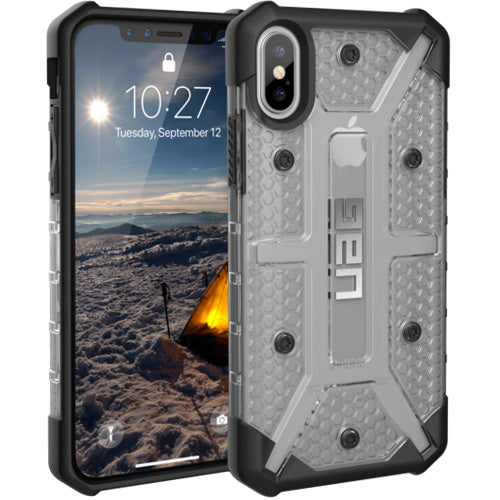 buy genuine product from Uag Plasma Armor Clear Shell Case For Iphone X - Ice color. From official distributor and free shipping australia wide.