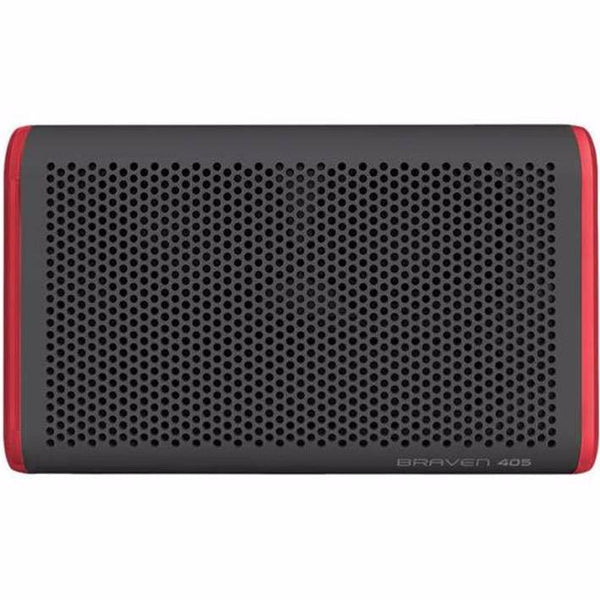 best price Braven 405 Wireless Portable Outdoor Bluetooth Speaker [Waterproof] - Gray/Red australia