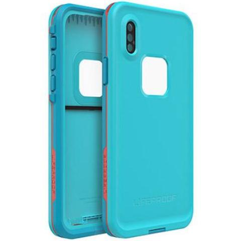fron back view lifeproof fre for iphone xs max blue colour Australia Stock