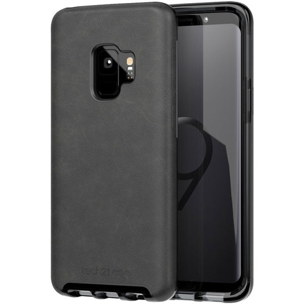tech21 evo luxe vegan leather flexshock case for galaxy s9