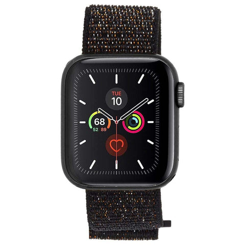 looking for new watch band for apple watch series 5. nylon band with maximum comfort materials. apple watch series 1/2/3/4/5 band