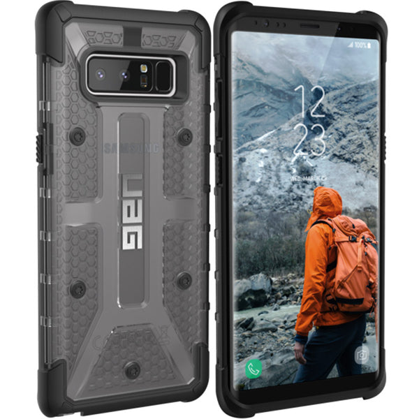 Buy Uag Plasma Rugged Armor Case For Galaxy Note 8 Ash Australia