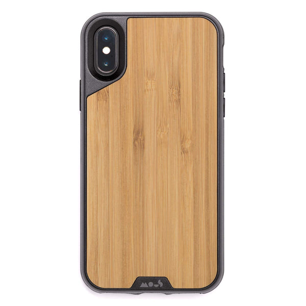 iPhone Xs & iPhone X Bamboo Wooden case from Mous with free shipping