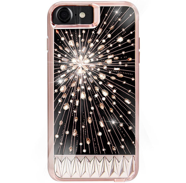Trusted official online store to shop and buy genuine Casemate Luminescent Light Up Crystal Case For Iphone 8/7/6S -Rose Gold. Free express shipping Australia wide only on Syntricate.