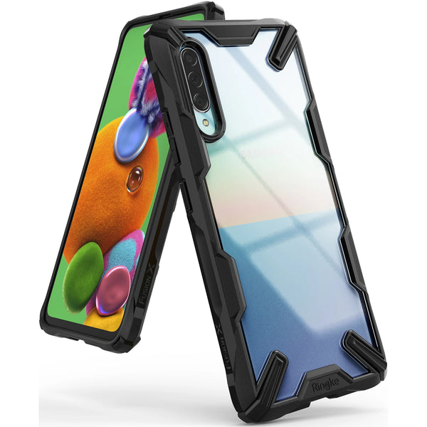Ringke Fusion X Rugged Case For Galaxy A90 5G - Black