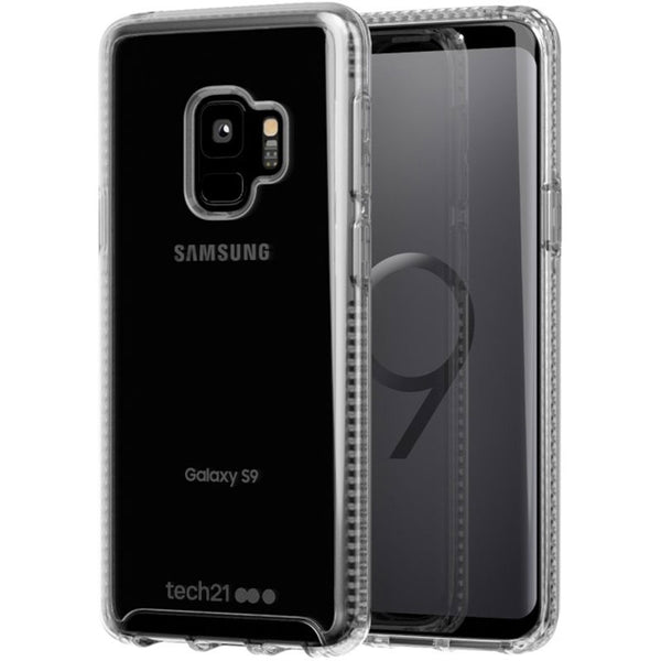 Tech21 Pure Clear Bulletshield Case For Samsung Galaxy S9 Clear Colour