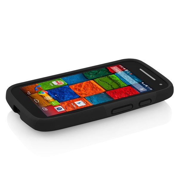 Genuine and authentic Incipio DualPro Case for Motorolla Moto E (2nd Gen) - Black | Free Express Shipping Australia Wide on Syntricate. Australia Stock