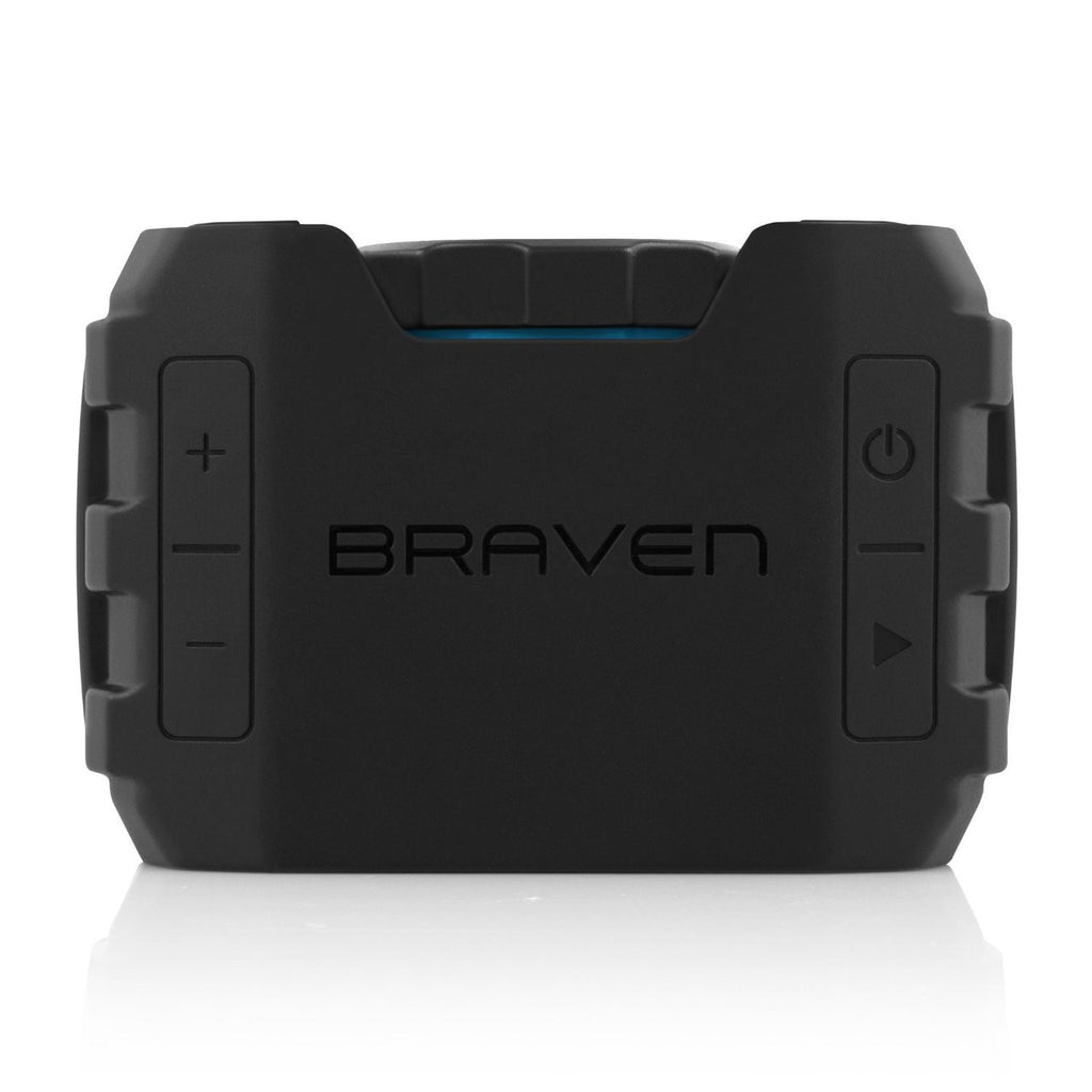 Shop Australia stock BRAVEN BRV-1 HD Wireless Bluetooth Speaker [WaterProof] - BLACK/CYAN with free shipping online. Shop BRAVEN collections with afterpay Australia Stock