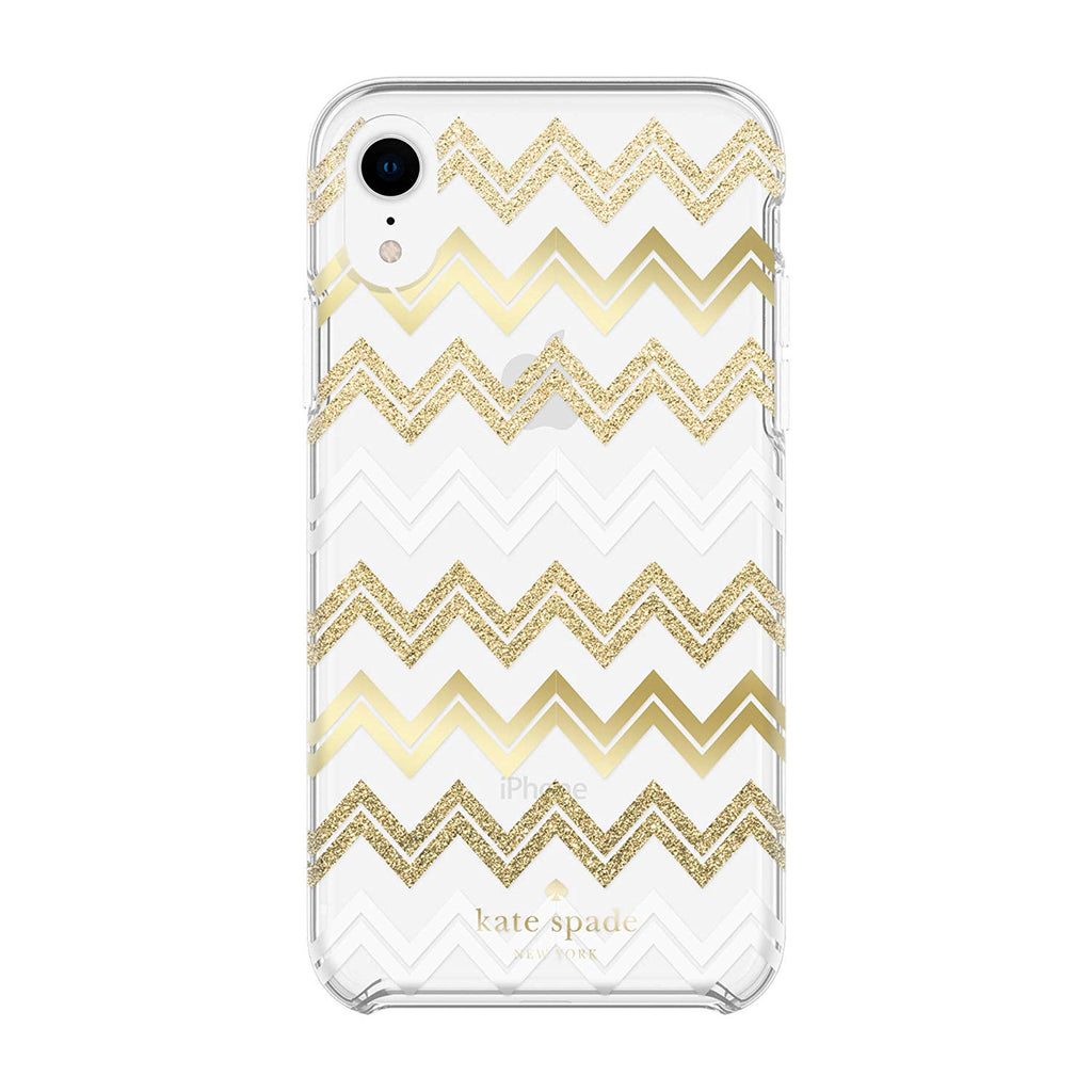 gold glitter case for iphone xr from kate spade. shop all cases collection from kate spade at syntricate. Australia Stock