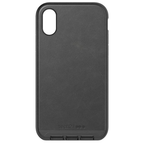 Get the latest stock EVO LUXE FAUX LEATHER CASE FOR IPHONE XR - BLACK COLOUR FROM TECH21 free shipping & afterpay.