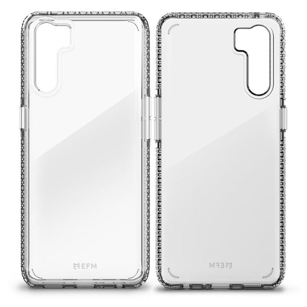 oppo a91 clear rugged case from efm australia. buy online with free express shipping australia wide