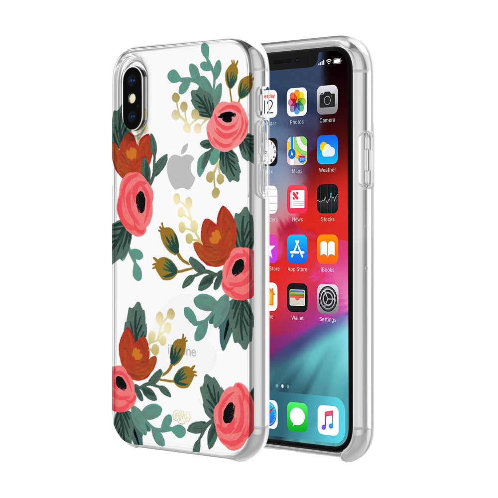 Shop Australia stock RIFLE PAPER CO. PROTECTIVE CASE FOR IPHONE XS MAX - ROSA GOLD FOIL/MULTI/CLEAR with free shipping online. Shop Rifle Paper Co. collections with afterpay Australia Stock