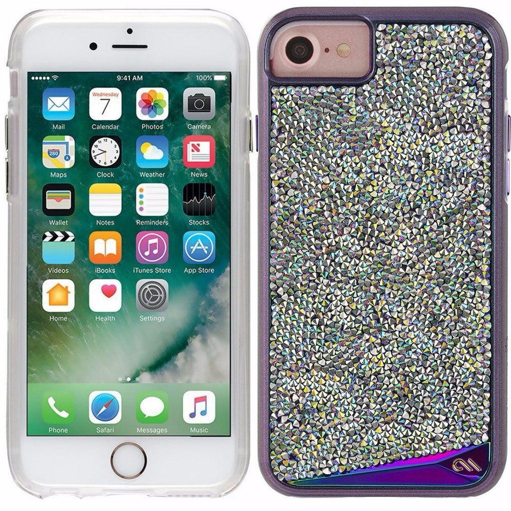 online store offers casemate brilliance tough genuine crystal case for iphone 8/7/6s iridescent free shipping australia Australia Stock