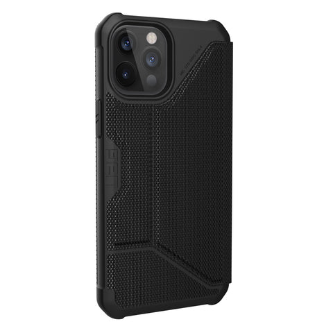 "Get the latest iPhone 12 Pro Max (6.7"") Metropolis Card Folio Case From UAG - Armortech Kevlar Online local Australia stock."