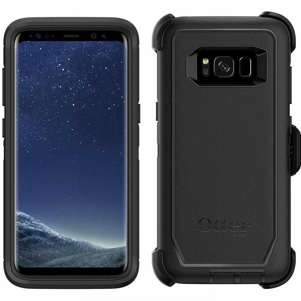 online store d77fb 1502f OTTERBOX DEFENDER RUGGED CASE FOR GALAXY S8 - BLACK