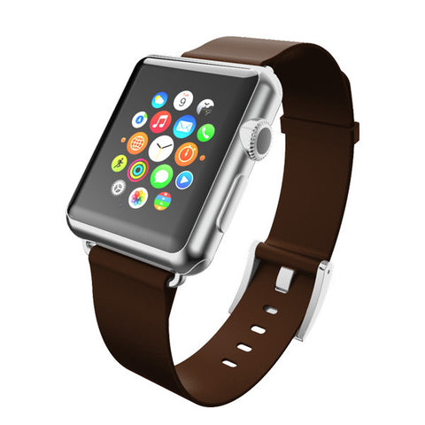 Incipio Premium Leather Band for Apple Watch 42mm - Espresso