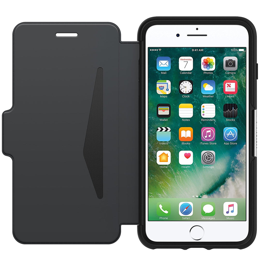 Shop Australia stock OtterBox Strada Leather Card Folio Case for iPhone 8 Plus/7 Plus - Black with free shipping online. Shop OtterBox collections with afterpay Australia Stock