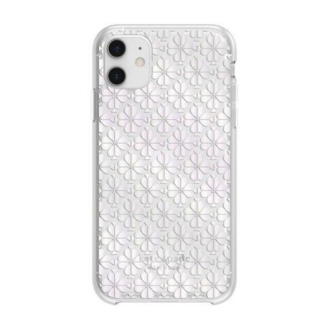 stylish girly cute clear case floral patterm iphone 11. buy online with afterpay payment