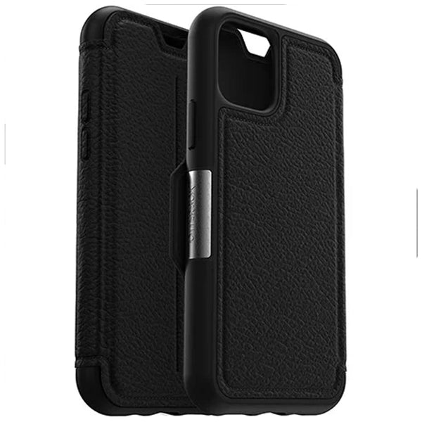"Shop Australia stock Otterbox Strada Leather Folio Wallet Case For iPhone 11 Pro (5.8"") - Shadow with free shipping online. Shop Syntricate collections with afterpay"