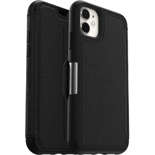 "Shop Australia stock Otterbox Strada Leather Folio Wallet Case For iPhone 11 (6.1"")- Shadow with free shipping online. Shop OtterBox collections with afterpay"