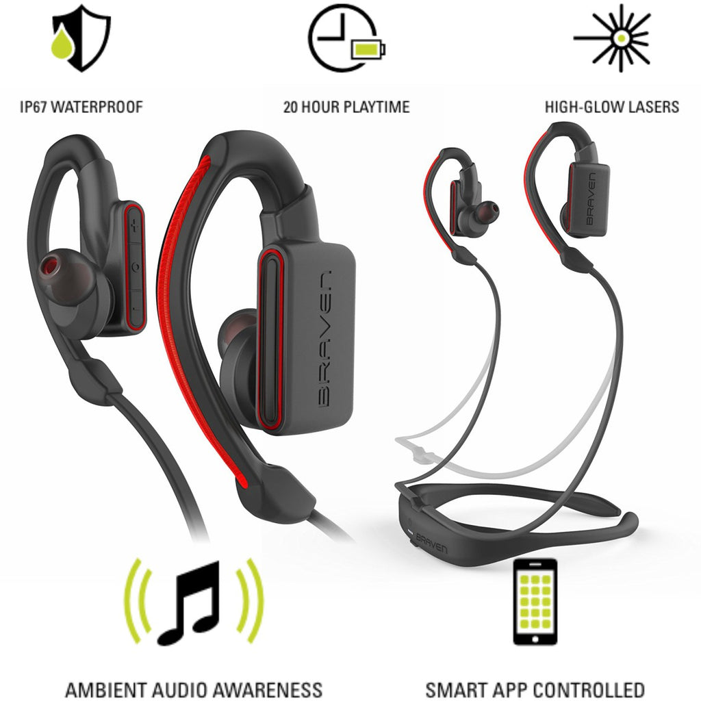 Shop Australia stock BRAVEN FLYE SPORT POWER BLUETOOTH EARBUDS - GREY/RED with free shipping online. Shop BRAVEN collections with afterpay Australia Stock