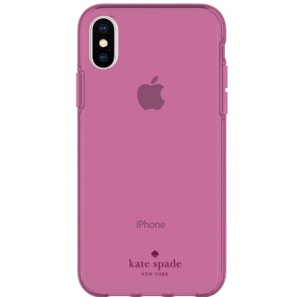 Place to buy  FLEXIBLE CASE FOR IPHONE XS MAX - PURPLE TINTED FROM KATE SPADE NEW YORK online in Australia free shipping & afterpay. Australia Stock