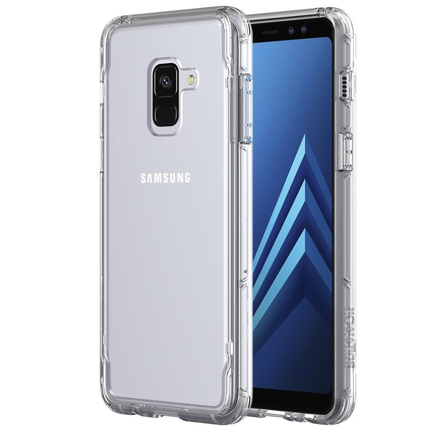 GRIFFIN SURVIVOR CLEAR CASE FOR GALAXY A8 - CLEAR Australia Stock