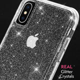 CASEMATE SHEER CRYSTAL PROTECTIVE CASE FOR IPHONE XS MAX - CLEAR