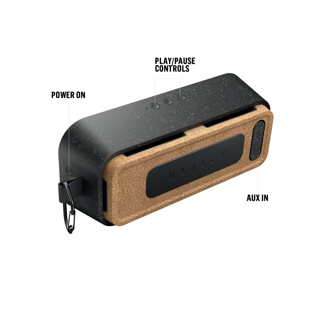 Shop Australia stock HOUSE OF MARLEY NO BOUNDS XL PORTABLE BLUETOOTH SPEAKER - BLACK with free shipping online. Shop House of Marley collections with afterpay Australia Stock
