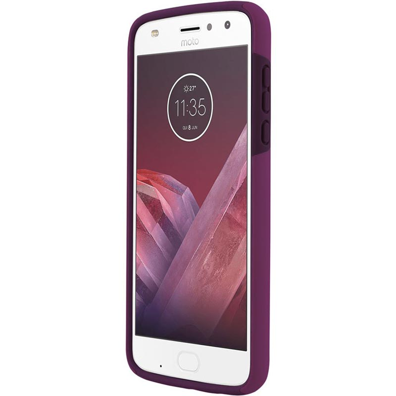 INCIPIO DUALPRO DUAL-LAYER PROTECTIVE CASE FOR MOTO Z2 PLAY - RASPBERRY Australia Stock