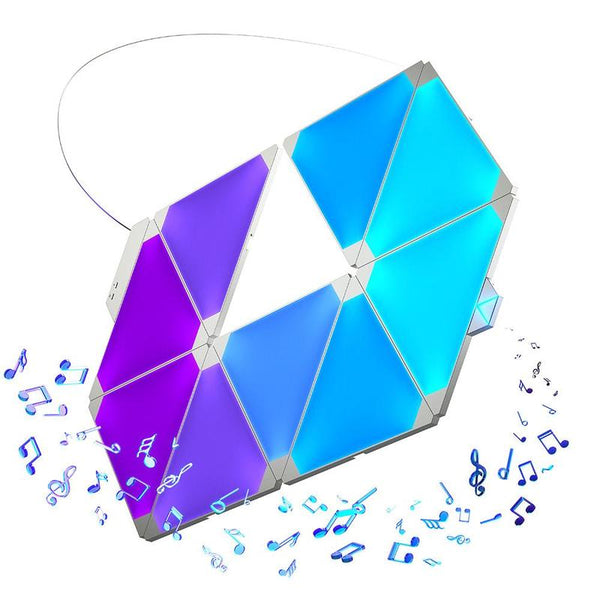 NANOLEAF LIGHT PANELS RHYTHM EDITION SMARTER KIT (9 PANELS)