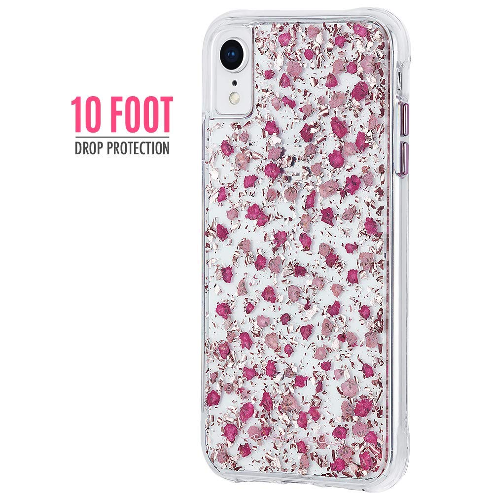 CASEMATE KARAT PETALS CASE FOR IPHONE XR - DITSY PETALS PINK Australia Stock