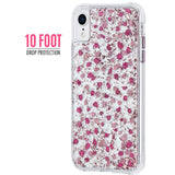 CASEMATE KARAT PETALS CASE FOR IPHONE XR - DITSY PETALS PINK