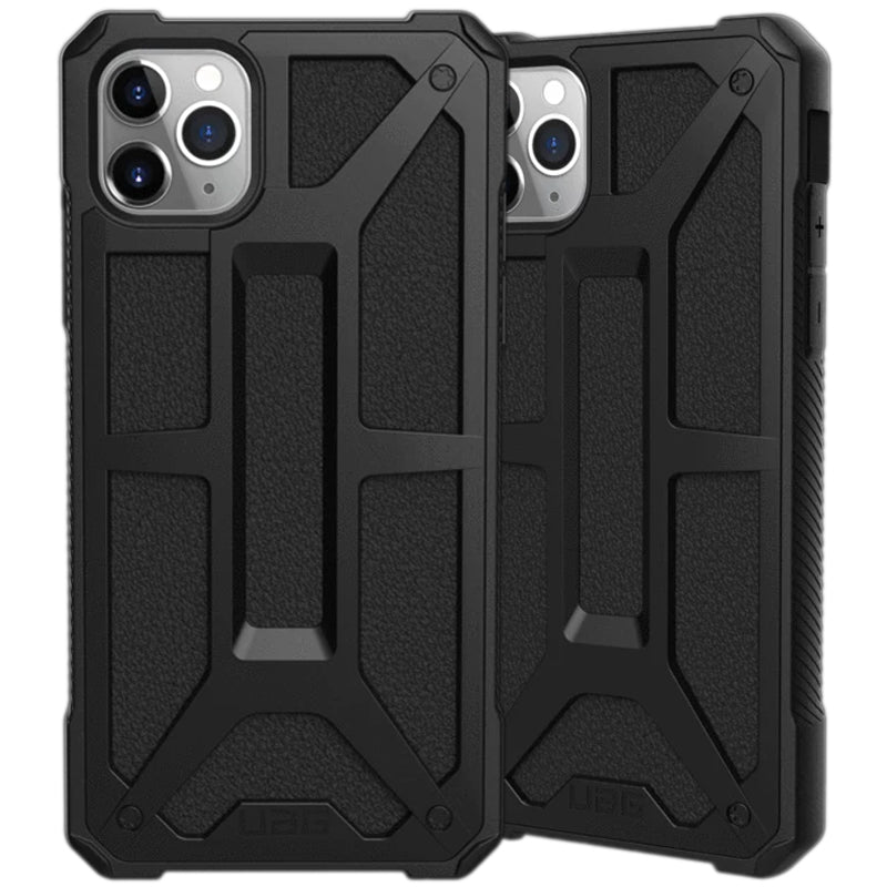 "Shop Australia stock UAG Monarch Handcrafted Rugged Case for iPhone 11 Pro Max (6.5"") - Black with free shipping online. Shop UAG collections with afterpay Australia Stock"