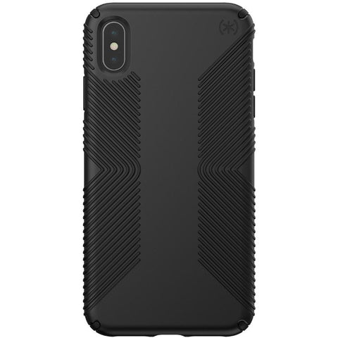 black strong grippy case from speck australia for iPhone Xs & iPhone X