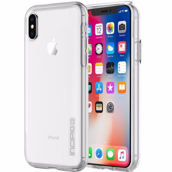 INCIPIO DUALPRO PURE CLEAR DUAL-LAYER PROTECTION CASE FOR IPHONE X - CLEAR