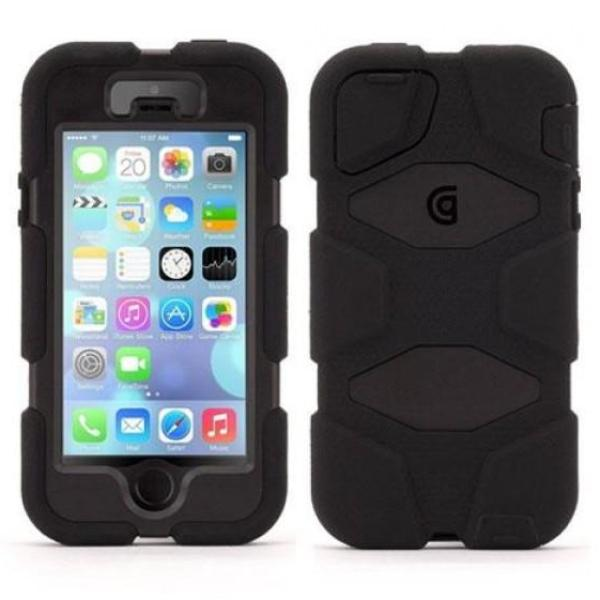 Get the latest SURVIVOR ALL-TERRAIN RUGGED CASE  FOR IPHONE SE/5S/5 - BLACK FROM GRIFFIN with free shipping online.