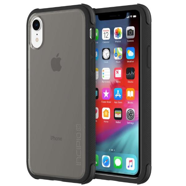 drop proof case black colour for iphone xr from incipio australia.