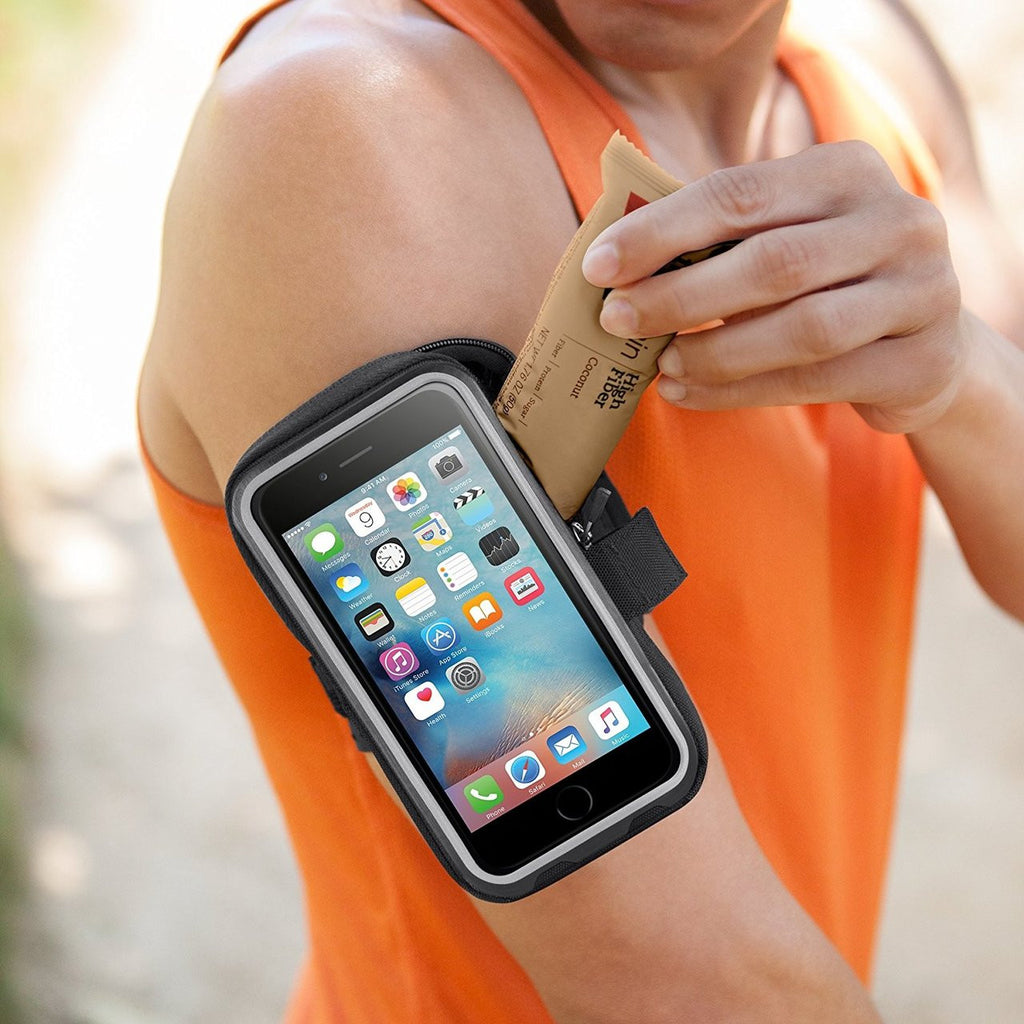 Shop Australia stock Belkin Storage Plus Armband for iPhone 6s/6 - Black with free shipping online. Shop Belkin collections with afterpay Australia Stock