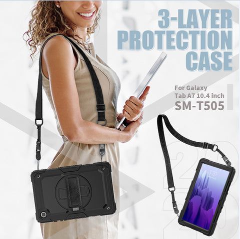 samsung tab a7 2020 hard cover with 3 layer protections . buy online local brand product with afterpay payment