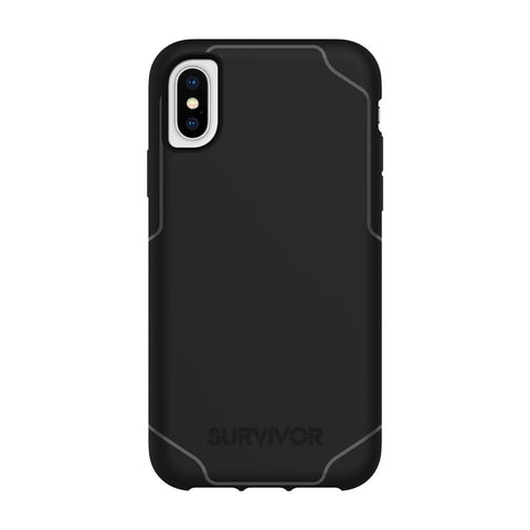 Iphone XS & iPhone X black griffin survivor strong case black australia