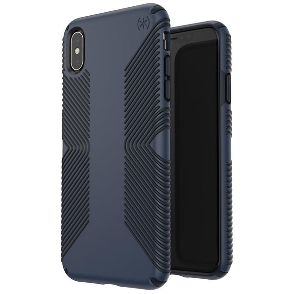 black iphone xs max from Speck Australia $49.95, grip style case
