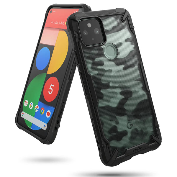 tough outdoor case for google pixel 5 with camo colour make your phone look nice and cool