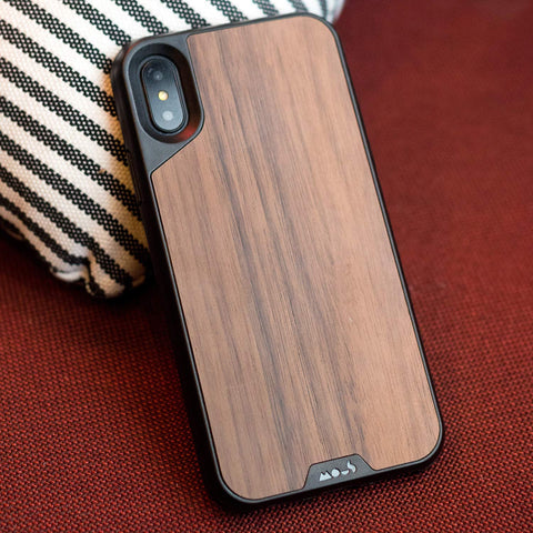 stylish wood pattern iphone xs & iphone X case from Mous Australia