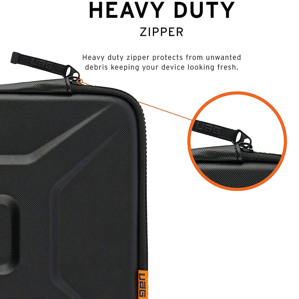 UAG Rugged Protective Sleeve W/Handle For Upto 16 inch Macbooks/Laptops - Black Australia Stock